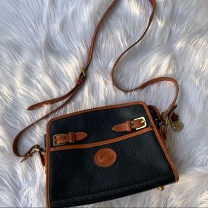 Vintage Dooney and Bourke Crossbody leather purse
